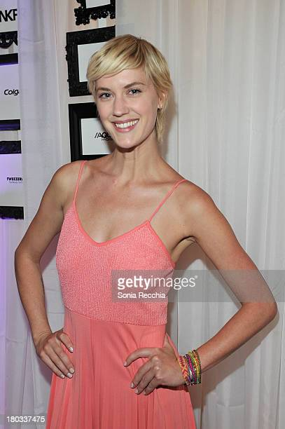 Lauren Lee Smith attends W Magazine Portrait Studio With Caitlin Cronenberg At The NKPR IT IT Lounge Day 4 on September 8 2013 in Toronto Canada