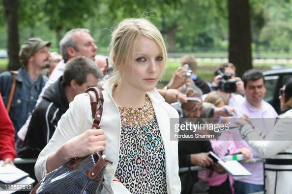 Lauren Levine arrives at the the 53rd Ivor Novello Awards held at the Grosvenor House on May 22 2008 in London England