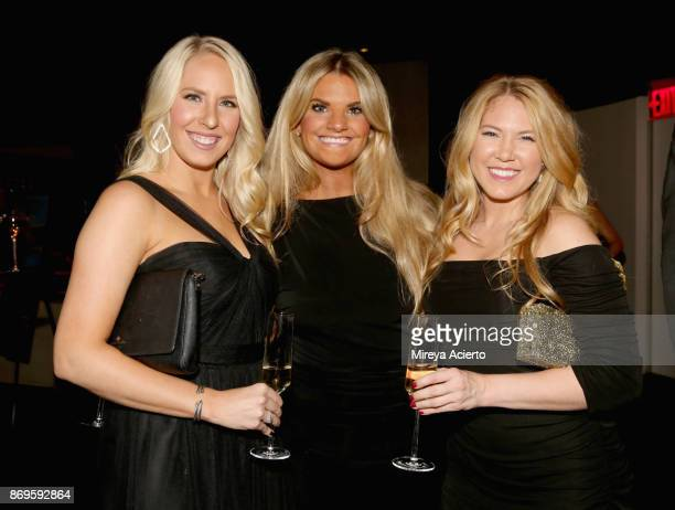Lauren Locke Samatha Wenig and Paige Garrett attend Global NonProfit Beyond Type 1 and Emporio Armani's 'Notte al Casino' at Armani 5th Avenue in NYC...