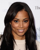 Lauren London attends the launch for 'Unbreakable' on April 4 2011 in Hollywood California