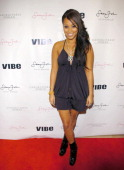Lauren London attends the Sean John Women's launch party hosted by Cassie and Lauren London at the Sean John flagship store October 19 2007 in New...