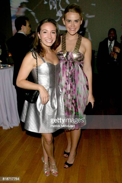 Lauren Lyon and Alixe Laughlin attend The YOUNG PATRONS CIRCLE of AMERICAN FRIENDS Hosts SOIREE AU LOUVRE at Payne Whitney Mansion on June 3 2010