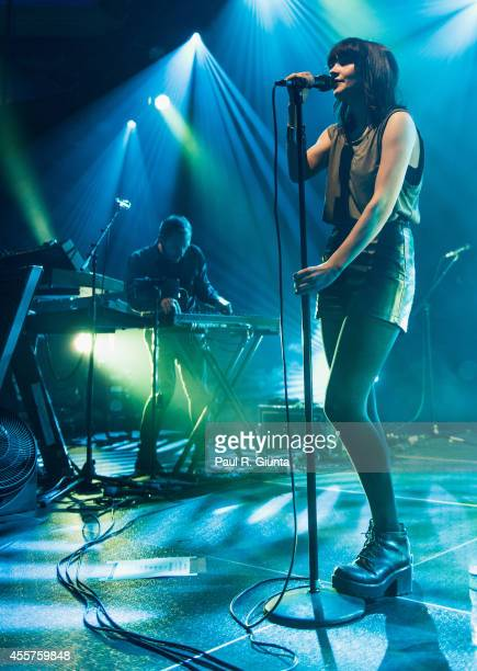 Lauren Mayberry of Chvrches performs onstage at Hollywood Palladium on September 19 2014 in Hollywood California