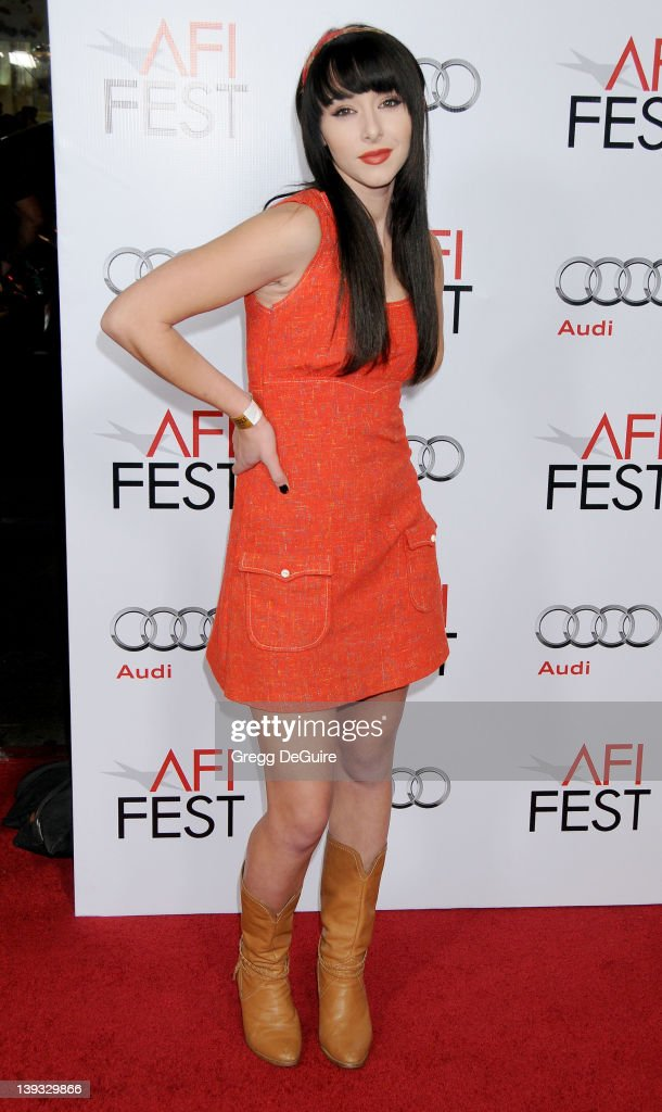 Lauren McKnight arrives at the Opening Night Gala Screening of 'Fantastic Mr. Fox' at AFI FEST 2009 at the Grauman's Chinese Theater on October 30, 2009 in Hollywood, California.
