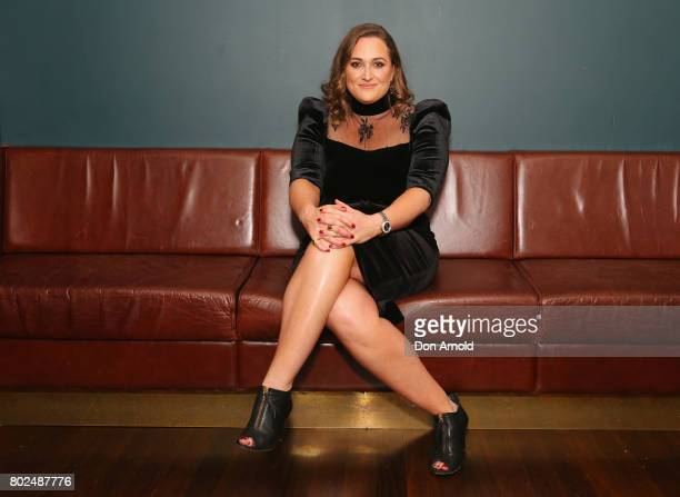 Lauren Miller arrives ahead of The Harry M Miller Group 20th Anniversary Party on June 28 2017 in Sydney Australia