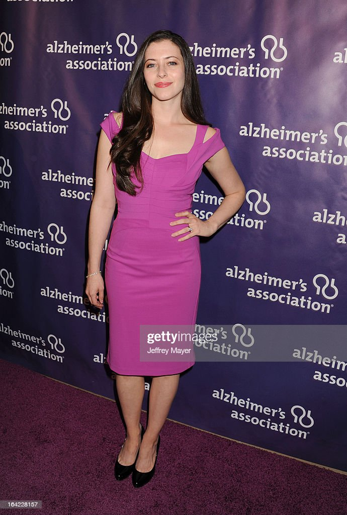 Lauren Miller arrives at the 21st Annual 'A Night At Sardi's' to benefit the Alzheimer's Association at The Beverly Hilton Hotel on March 20, 2013 in Beverly Hills, California.