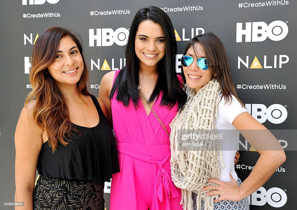 Lauren Perez-Range, Scarlet Gruber and Azalea Esquerre attend the NALIP Media Summit at Dolby Theatre on June 25, 2016 in Hollywood, California.