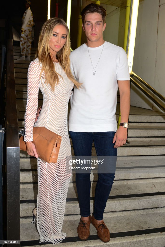 Lauren Pope arrives to the Attitude Magazine Hot 100 Party on July 16 2014 in London England