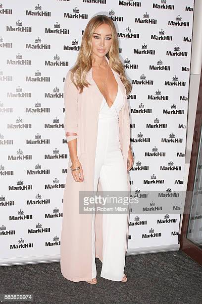 Lauren Pope attending the Mark Hill Hair Pick N Mix launch event on July 27 2016 in London England