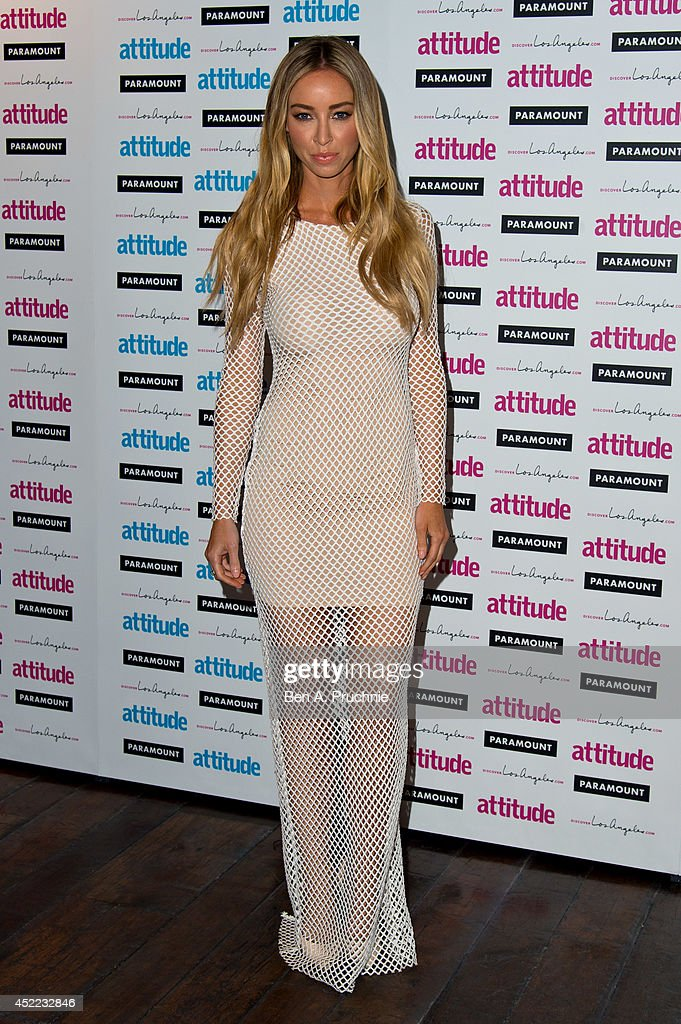 <a gi-track='captionPersonalityLinkClicked' href=/galleries/search?phrase=Lauren+Pope&family=editorial&specificpeople=217525 ng-click='$event.stopPropagation()'>Lauren Pope</a> attends the Attitude Magazine Hot 100 party at Paramount Club on July 16, 2014 in London, England.