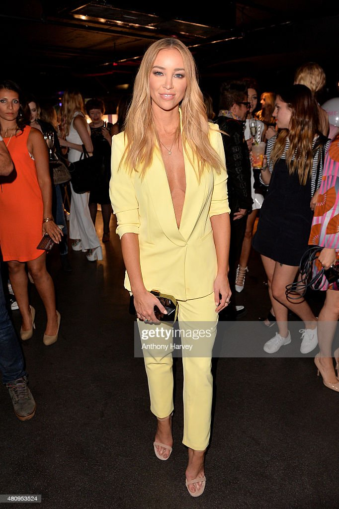 Lauren Pope attends the In The Style x Now Summer Party at The Drury Club on July 16 2015 in London England