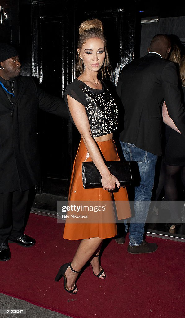Lauren Pope attends the launch of 9 Swallow Street on November 22 2013 in London England