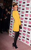Lauren Pope attends the launch of 'Priscilla Parties' at Palace Theatre on January 24 2011 in London England