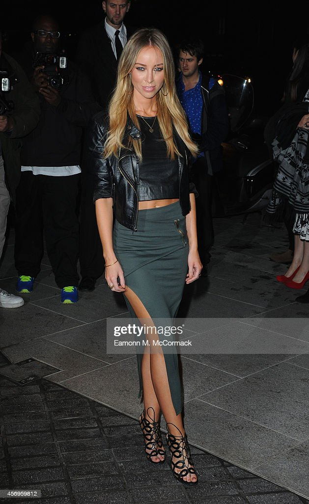 Lauren Pope attends the launch of The Mondrian Hotel at Mondrian Hotel on October 9 2014 in London England