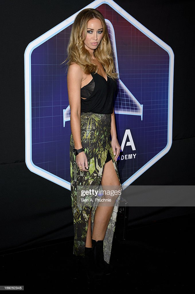 Lauren Pope attends the Lynx L.S.A launch event at Wimbledon Studios on January 10, 2013 in London, England.