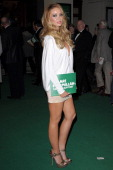 Lauren Pope attends the Macmillan Centenary Gala at London Palladium on November 28 2011 in London England