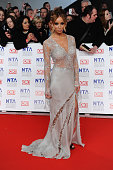 Lauren Pope attends the National Television Awards 2012 at the 02 Arena on January 25 2012 in London England