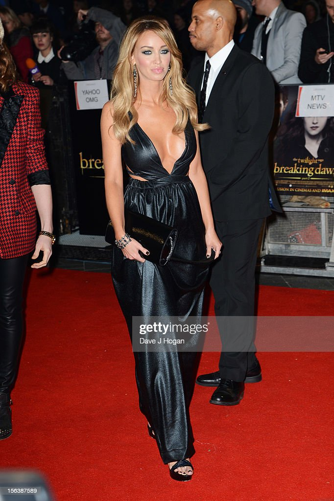 Lauren Pope attends the UK Premiere of 'The Twilight Saga: Breaking Dawn - Part 2' at Odeon Leicester Square on November 14, 2012 in London, England.