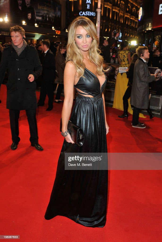 Lauren Pope attends the UK Premiere of 'The Twilight Saga: Breaking Dawn Part 2' at Odeon Leicester Square on November 14, 2012 in London, England.