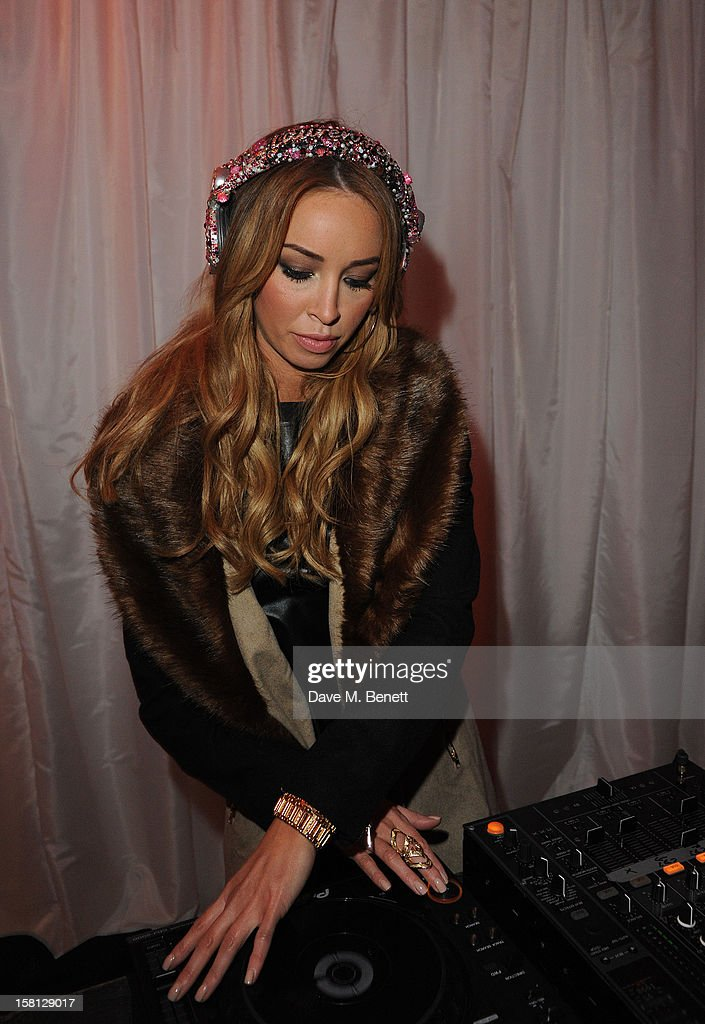 Lauren Pope attends The UK's first Catwalk on Ice from Very.co.uk, held at the Tower of London Ice Rink, gave shoppers a more entertaining way to shop their Christmas outfits this season at Tower of London on December 10, 2012 in London, England.