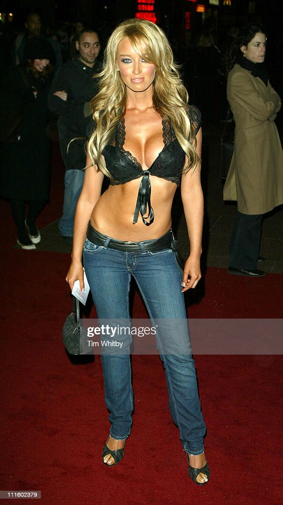 Lauren Pope during 'Get Rich or Die Tryin'' London Premiere Outside Arrivals at Empire Leicester Square in London Great Britain