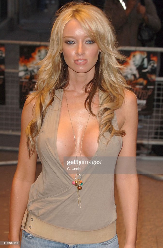 Lauren Pope during 'Rollin' With The Nines' London Premiere Arrivals at Odeon Leicester Square in London Great Britain