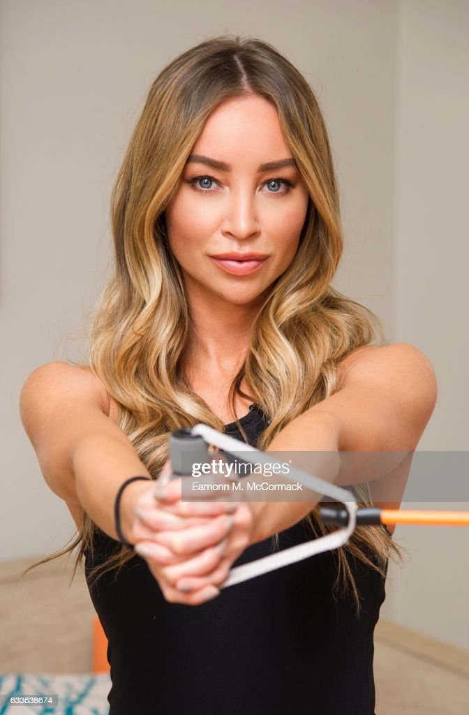 Lauren Pope Launches New 'Opti' Fitness Range Available Exclusively At Argos