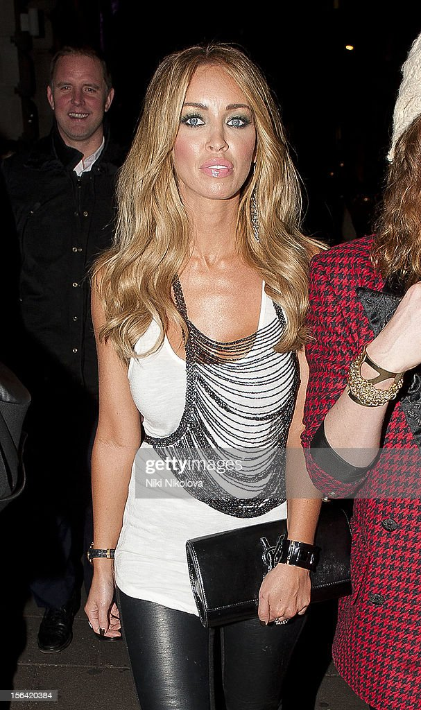 Lauren Pope sighting on November 14, 2012 in London, England.
