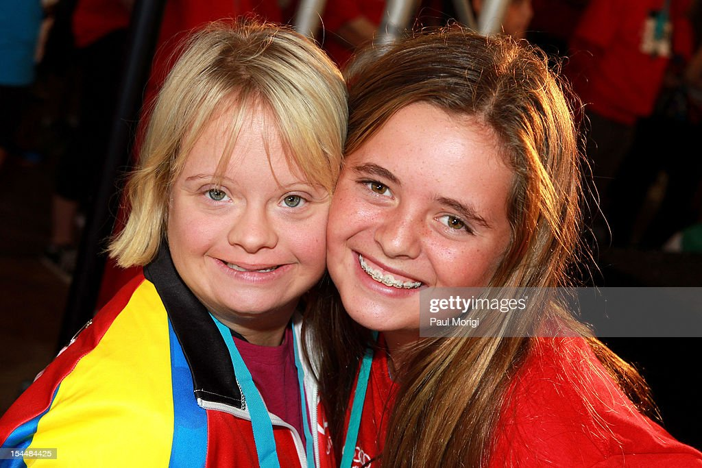 <a gi-track='captionPersonalityLinkClicked' href=/galleries/search?phrase=Lauren+Potter&family=editorial&specificpeople=7243163 ng-click='$event.stopPropagation()'>Lauren Potter</a> and Carolina Shriver attend the Audi Best Buddies Challenge: Washington, D.C. on October 20, 2012 in Washington, DC.