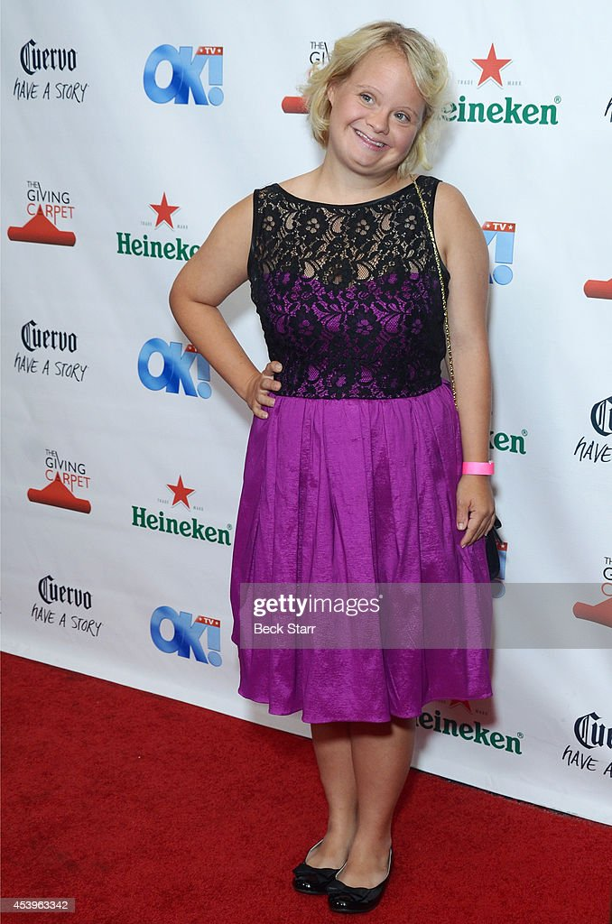 <a gi-track='captionPersonalityLinkClicked' href=/galleries/search?phrase=Lauren+Potter&family=editorial&specificpeople=7243163 ng-click='$event.stopPropagation()'>Lauren Potter</a> arrives at OK! TV Emmy pre-awards party honoring the Emmy nominees and presenters at Sofitel Hotel on August 21, 2014 in Los Angeles, California.