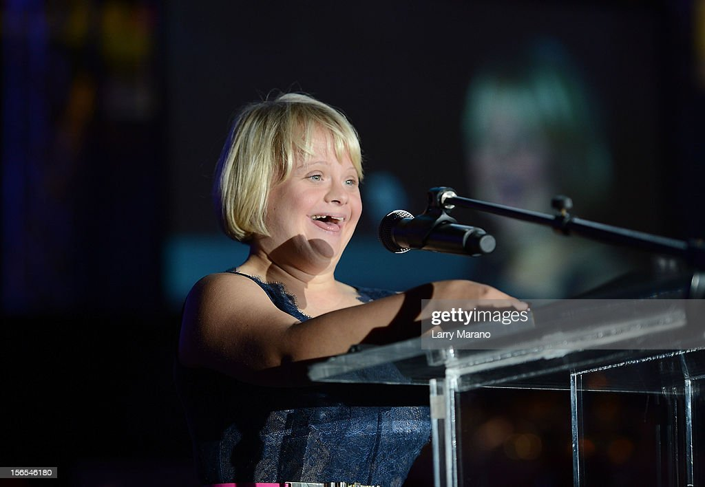 <a gi-track='captionPersonalityLinkClicked' href=/galleries/search?phrase=Lauren+Potter&family=editorial&specificpeople=7243163 ng-click='$event.stopPropagation()'>Lauren Potter</a> attends the Zenith Watches Best Buddies Miami Gala at Marlins Park on November 16, 2012 in Miami, Florida.