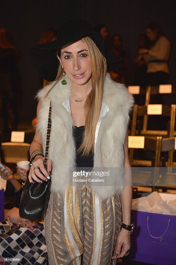 <a gi-track='captionPersonalityLinkClicked' href=/galleries/search?phrase=Lauren+Rae+Levy&family=editorial&specificpeople=5705070 ng-click='$event.stopPropagation()'>Lauren Rae Levy</a> attends the Red Carpet Manicure - Exclusive Nails of Noon by Noor at The Studio at Lincoln Center on February 8, 2013 in New York City.