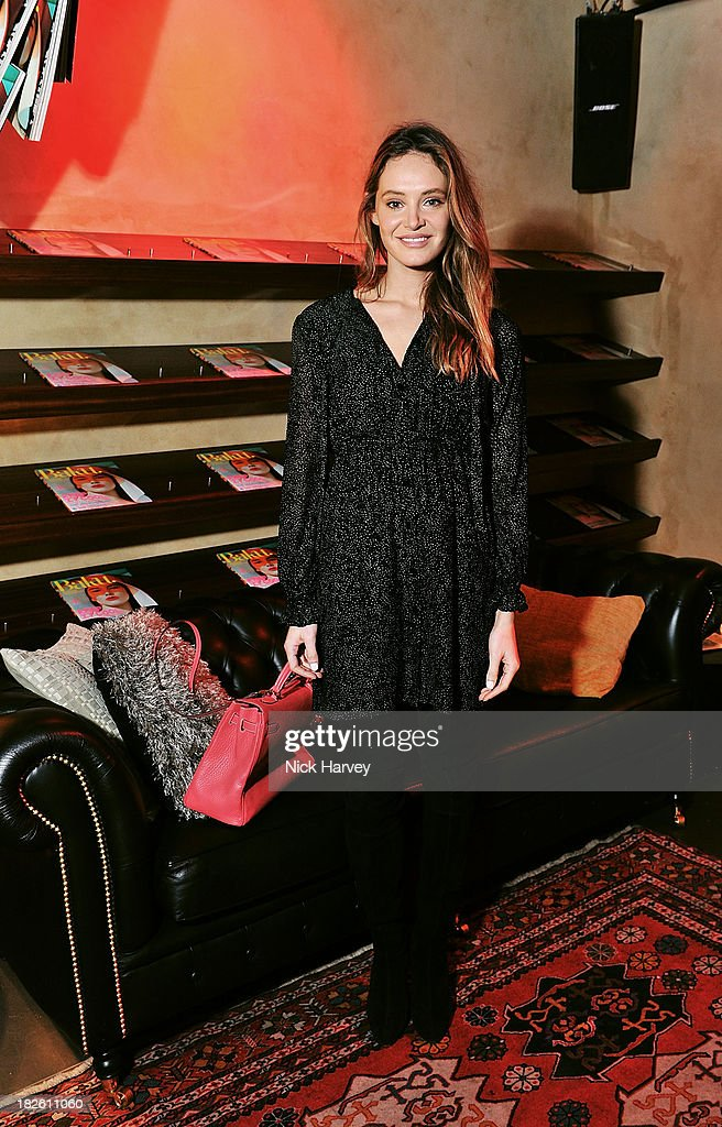 Lauren Regan attends Baku Cellar 164 for an exclusive show by Gavin Turk, in collaboration with A Space for Art and Baku Magazine in support of The House of Fairytales on October 1, 2013 in London, England.