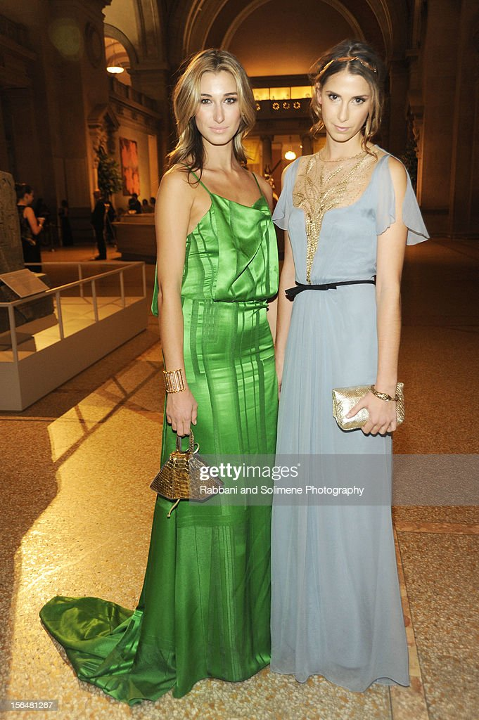 Lauren Remington Platt and Ashley Wilcox Platt attends the cocktail party prior to the 2012 Apollo Circle Benefit at the Metropolitan Museum of Art on November 15, 2012 in New York City.