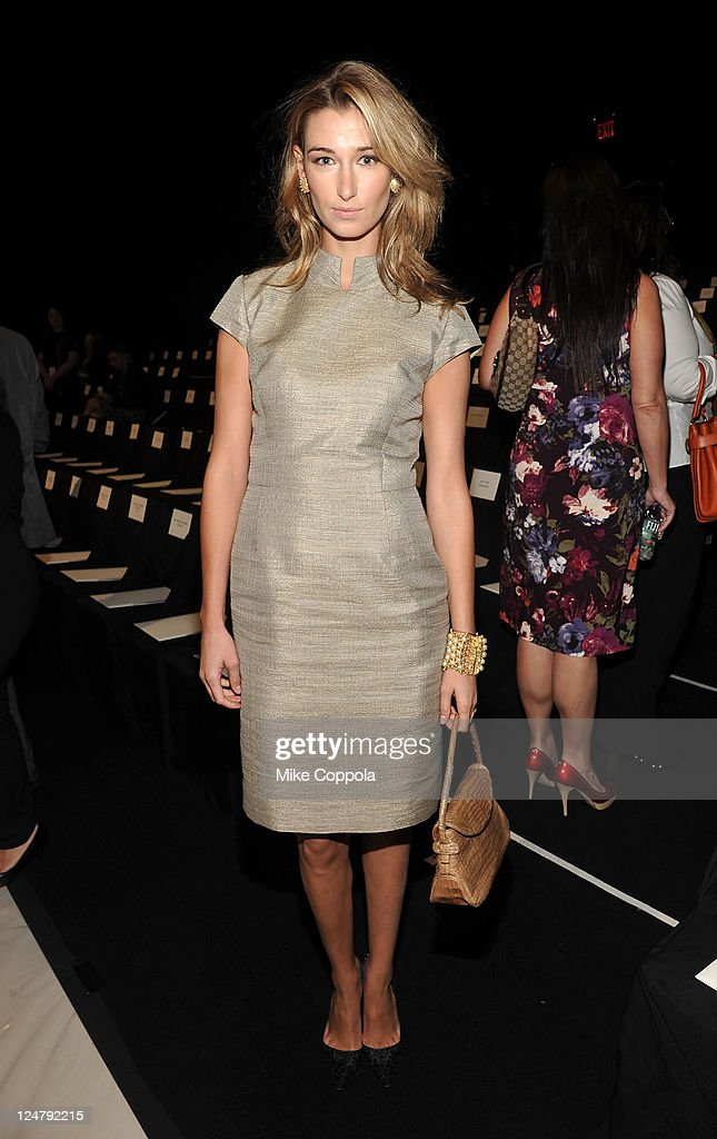 <a gi-track='captionPersonalityLinkClicked' href=/galleries/search?phrase=Lauren+Remington+Platt&family=editorial&specificpeople=4359044 ng-click='$event.stopPropagation()'>Lauren Remington Platt</a> attends the Carolina Herrera Spring 2012 fashion show during Mercedes-Benz Fashion Week at The Theater at Lincoln Center on September 12, 2011 in New York City.