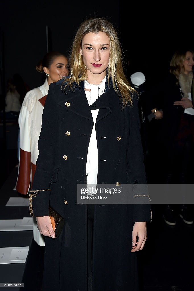 <a gi-track='captionPersonalityLinkClicked' href=/galleries/search?phrase=Lauren+Remington+Platt&family=editorial&specificpeople=4359044 ng-click='$event.stopPropagation()'>Lauren Remington Platt</a> attends the Prabal Gurung Fall 2016 fashion show during New York Fashion Week: The Shows at The Arc, Skylight at Moynihan Station on February 14, 2016 in New York City.