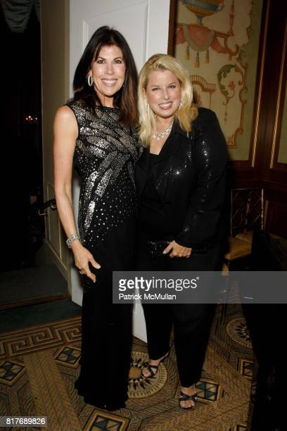 Lauren Roberts and Rita Cosby attend Soldiers' Sailors' Marines' Coast Guard and Airmen's Club 14th Annual Military Ball at The Pierre Hotel on...