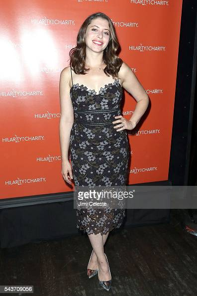 Lauren Rogen attends Seth and Lauren Rogen's Hilarity for Charity Comes to New York at Highline Ballroom on June 29 2016 in New York City