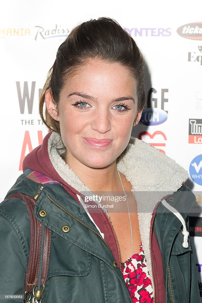Lauren Samuels attends the Whatsonstage.com Theare Awards nominations launch at Cafe de Paris on December 7, 2012 in London, England.