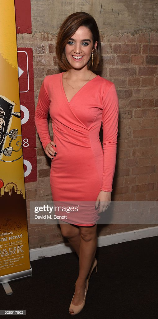 Lauren Samuels attends the World Premiere press night performance of 'The Buskers Opera' at The Park Theatre on May 5, 2016 in London, England.