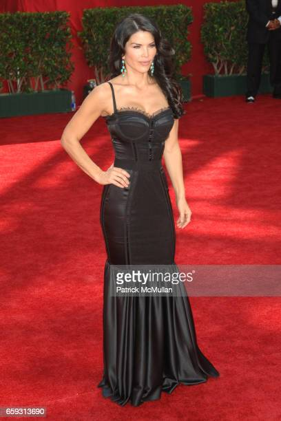 Lauren Sanchez attends 61st Annual Primetime Emmy Awards Arrivals at Nokia Theatre LA Live on September 20 2009 in Los Angeles California