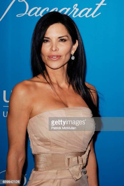 Lauren Sanchez attends UNICEF SNOWFLAKE BALL at Beverly Wilshire Hotel on December 10 2009 in Beverly Hills California