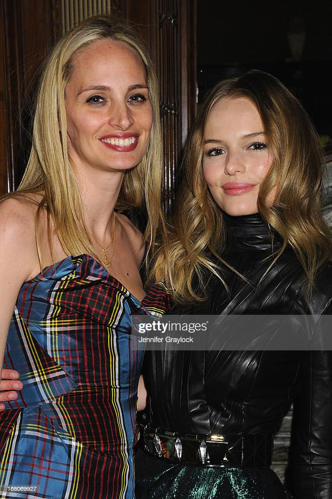 Lauren Santo Domingo and actress Kate Bosworth attend Moda Operandi and St. Regis Hotels & Resorts event 'A Midnight Supper' to celebrate the launch of the exclusive Punk Collection on preview at The St Regis New York on May 4, 2013 in New York City.