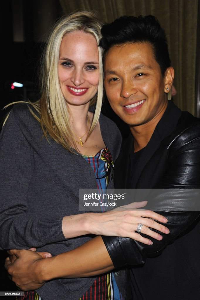Lauren Santo Domingo and designer Prabal Gurung attend Moda Operandi and St. Regis Hotels & Resorts event 'A Midnight Supper' to celebrate the launch of the exclusive Punk Collection on preview at The St Regis New York on May 4, 2013 in New York City.