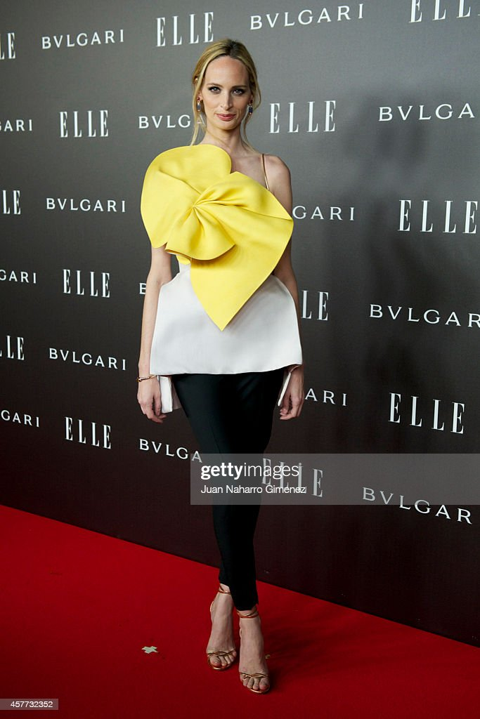 Lauren Santo Domingo attends 'Elle Style Awards 2014' photocall at Italian Embassy on October 23, 2014 in Madrid, Spain.