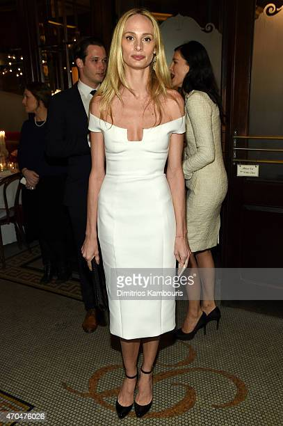 Lauren Santo Domingo attends the 2015 Tribeca Film Festival CHANEL Artists Dinner at Balthazer on April 20 2015 in New York City