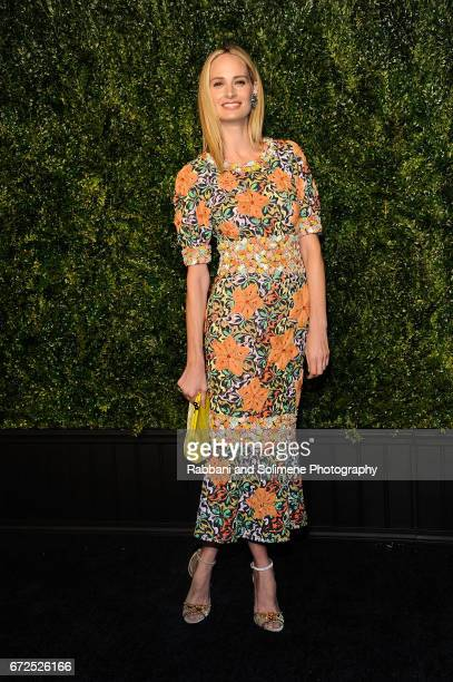 Lauren Santo Domingo attends the 2017 Tribeca Film Festival Chanel Artists Dinner on April 24 2017 in New York City