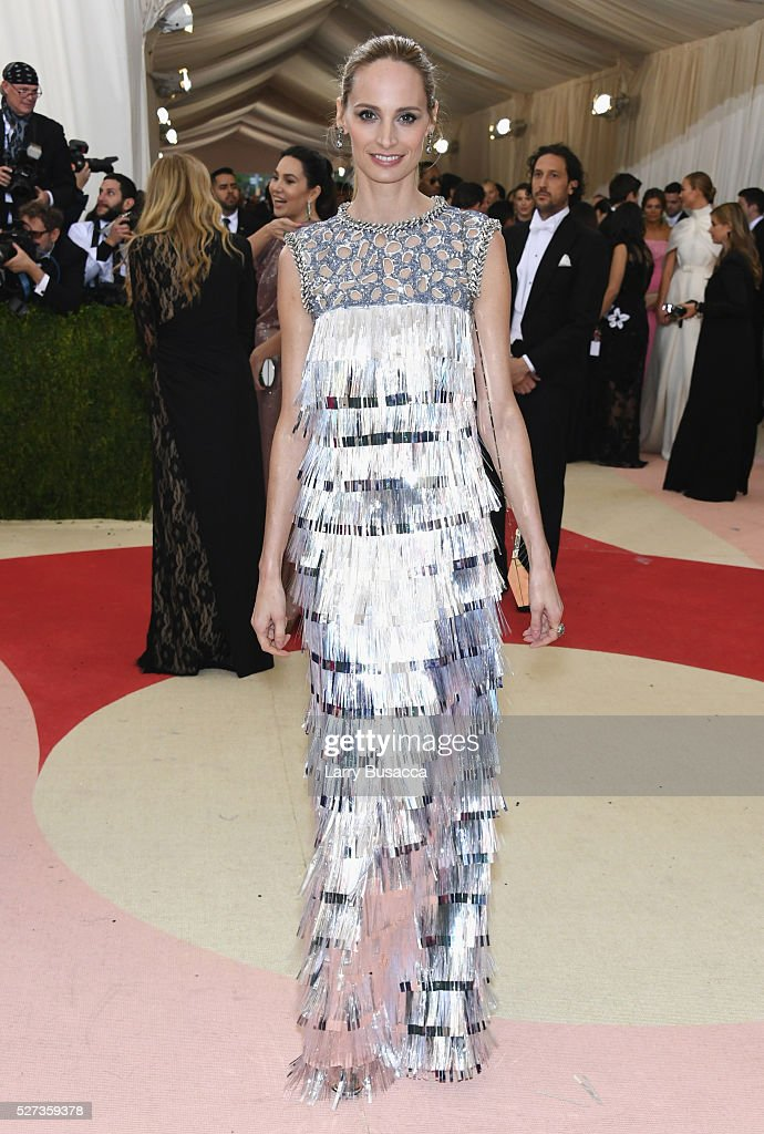 Lauren Santo Domingo attends the 'Manus x Machina: Fashion In An Age Of Technology' Costume Institute Gala at Metropolitan Museum of Art on May 2, 2016 in New York City.