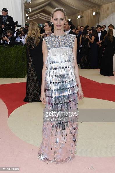 Lauren Santo Domingo attends the 'Manus x Machina Fashion In An Age Of Technology' Costume Institute Gala at Metropolitan Museum of Art on May 2 2016...