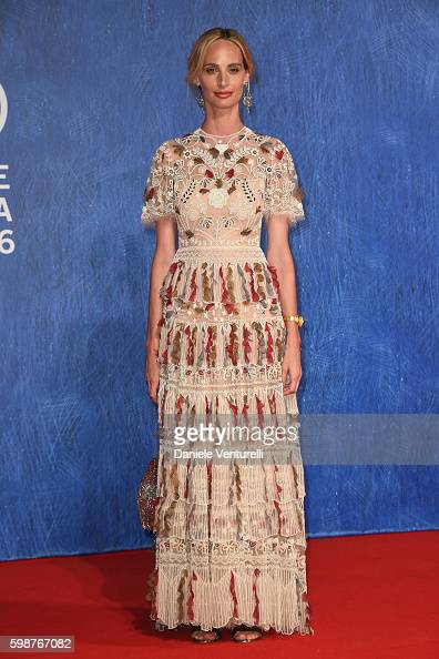 Lauren Santo Domingo attends the premiere of 'Franca Chaos And Creation' during the 73rd Venice Film Festival at Sala Giardino on September 2 2016 in...